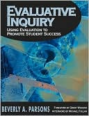 Evaluative Inquiry by Beverly Anderson Parsons: Book Cover