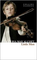 Little Men by Louisa May Alcott: NOOK Book Cover