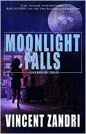 Moonlight Falls by Vincent Zandri: NOOK Book Cover