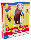 Curious George Pal Puzzle by Pressman Toy: Product Image