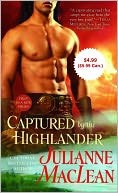 Captured by the Highlander by Julianne MacLean: NOOK Book Cover