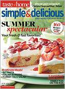 Simple and Delicious by Reader's Digest Association, Inc.: NOOK Magazine Cover