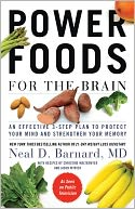 Power Foods for the Brain by Neal Barnard: NOOK Book Cover