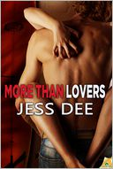 More than Lovers by Jess Dee: NOOK Book Cover