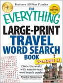 The Everything Large-Print Travel Word Search Book, Volume II by Charles Timmerman: Book Cover