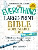 The Everything Large-Print Bible Word Search Book, Volume III by Charles Timmerman: Book Cover