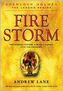 Fire Storm by Andrew Lane: Book Cover