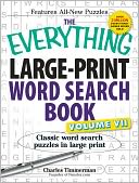 The Everything Large-Print Word Search Book, Volume VII by Charles Timmerman: Book Cover
