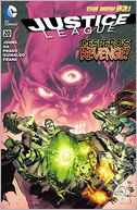 Justice League #20 (2011- ) (NOOK Comic with Zoom View) by Geoff Johns: NOOK Book Cover