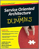 Service Oriented Architecture (SOA) For Dummies by Judith Hurwitz: NOOK Book Cover