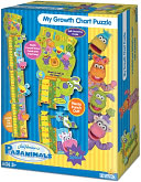 Pajanimals Growth Chart 17 Piece Puzzle by Briarpatch: Product Image