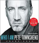 Who I Am Low Price CD by Pete Townshend: CD Audiobook Cover