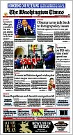 The Washington Times by Washington Times, LLC: NOOK Newspaper Cover