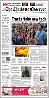 The Charlotte Observer by The McClatchy Company: NOOK Newspaper Cover