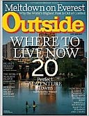 Outside - One Year Subscription: Magazine Cover