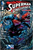 Superman Unchained #1 (2013- ) (NOOK Comic with Zoom View) by Scott Snyder: NOOK Book Cover