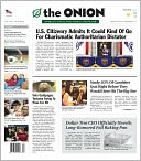 The Onion by The Onion Inc: NOOK Newspaper Cover