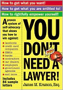 You Don't Need a Lawyer by James Kramon Esq.: NOOK Book Cover
