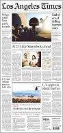 The Los Angeles Times by Tribune Company: NOOK Newspaper Cover