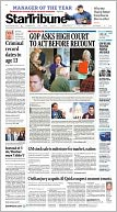 The Minneapolis Star Tribune by Star Tribune Media Company LLC: NOOK Newspaper Cover