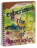 "Experiment is the Mother of Knowledge Wiro Sketchbook 8.5"" x 11"" by Barnes & Noble: Product Image"