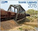 Scenic Layouts by Model Railroader Magazine: Calendar Cover