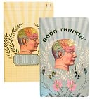 "Good Thinkin Sketch & Scribble Notebook Set 8"" x 5"" by Papaya Inc!: Product Image"