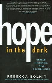 Hope in The Dark by Rebecca Solnit: Book Cover