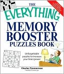 The Everything Memory Booster Puzzles Book by Charles Timmerman: Book Cover