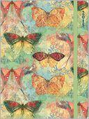 2015 Bohemian Butterflies Engagement Planner by Susan Winget: Calendar Cover