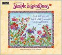 2015 Simple Inspirations Wall Calendar by Debi Hron: Calendar Cover