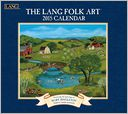2015 Lang Folk Art Wall Calendar by Mary Singleton: Calendar Cover