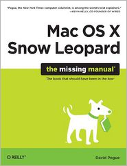 Mac OS X Snow Leopard by David Pogue: Book Cover