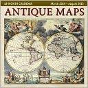 2015 Mid Year Antique Maps 18M Mar 2014-Aug 2015 Wall Calendar by Ziga Media: Calendar Cover