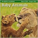 2015 Mid Year Baby Animals 18M Mar 2014-Aug 2015 Wall Calendar by Ziga Media: Calendar Cover