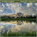2015 Mid Year America's National Parks 18M Mar 2014-Aug 2015 Wall Calendar by Ziga Media: Calendar Cover
