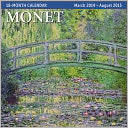 2015 Mid Year Monet 18M Mar 2014-Aug 2015 Wall Calendar by Ziga Media: Calendar Cover