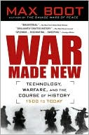 War Made New by Max Boot: Book Cover