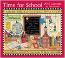 Time for School 2015 Deluxe Wall Calendar by Ellen Stouffer: Calendar Cover