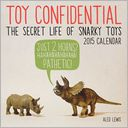 Toy Confidential by Aled Lewis: Calendar Cover