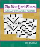 2015 New York Times Sunday Crossword Puzzles Weekly Planner Calendar by The New York Times: Calendar Cover