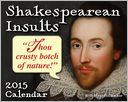2015 Shakespearean Insults Mini Day-to-Day Calendar by Andrews McMeel Publishing LLC: Calendar Cover