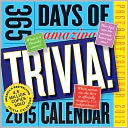 2015 365 Days of Amazing Trivial Page-A-Day Calendar by Workman Publishing: Calendar Cover