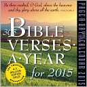 2015 365 Bible Verses-A-Year Page-A-Day Calendar by Workman Publishing: Calendar Cover