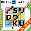 2015 The Original Sudoku Page-A-Day Calendar by The Editors of Nikoli: Calendar Cover