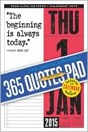 2015 365 Quotes Notepad Calendar by Workman Publishing: Calendar Cover
