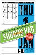 2015 Sudoku Notepad Calendar by The Editors of Nikoli: Calendar Cover