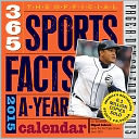 2015 The Official 365 Sports Facts-A-Year Page-A-Day Calendar by Workman Publishing: Calendar Cover