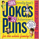 2015 308 Really Bad Jokes + 57 Hilarious Puns Page-A-Day Calendar by Workman Publishing: Calendar Cover