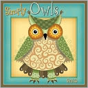 2015 Simply Owls Wall Calendar by Next Day Art: Calendar Cover